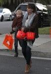 Jennifer Garner and Samuel Affleck out for Halloween 2013