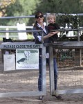 Jennifer Garner & her son Samuel @ the horseriding ranch