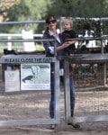 Jennifer Garner & her son Samuel @ the horseriding ranch