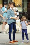 Jennifer Garner with daughter Seraphina out in NYC