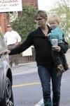Jennifer Garner Kids Day at Country Mart