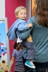Jennifer Garner with son Samuel out in NYC