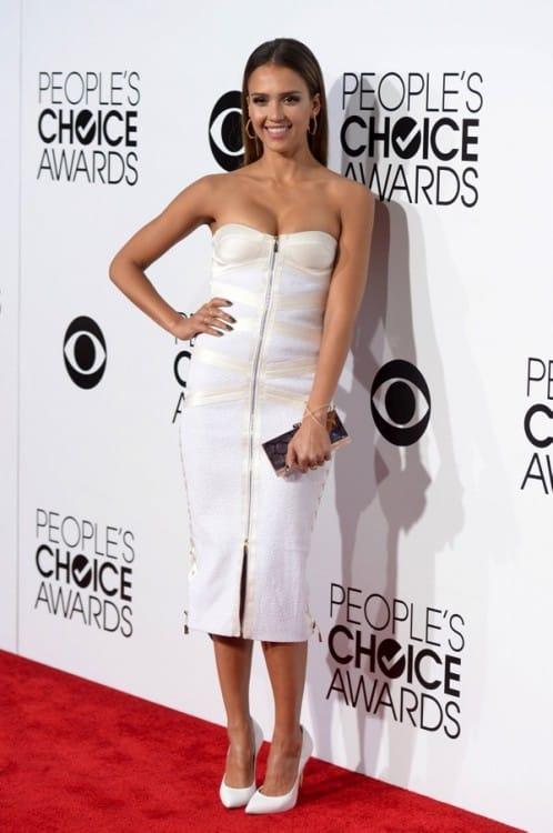 Jessica Alba - 40th annual People's Choice Awards