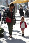 Jessica Alba Strolls with her daughter Haven in LA