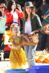 Jessica Alba with daughter Honor at Mr