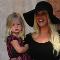 Jessica Simpson Shares the Spotlight With Her Little Ones!