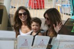 Jillian Michaels and  Heidi Rhoades enjoy the 32nd Annual Malibu Chili Cook Off with their children Lukensia and Pheonix