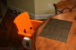 Joovy HiLo highchair - orange