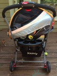 Joovy twin roo with infant seats
