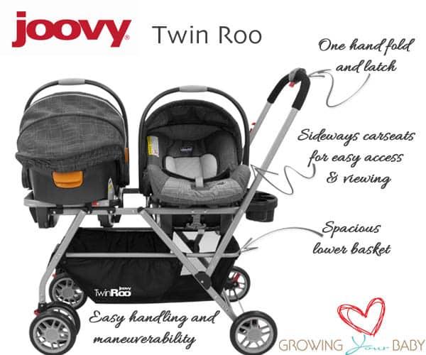 Joovy twin roo