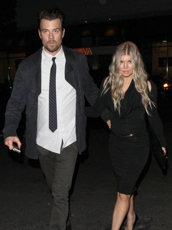 Josh Duhamel and  Fergie celebrate their anniversary Mr. chows
