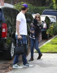 Josh Duhamel and wife Fergie visit Oliver Hudson's home with son AXL