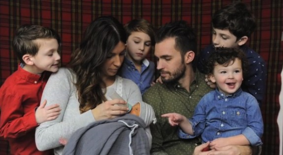 Josh and Robbyn Blick with their 5 children