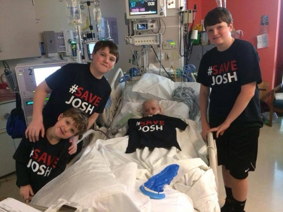 Josh hardy with his brothers