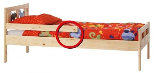 Ikea Kritter Bed recall
