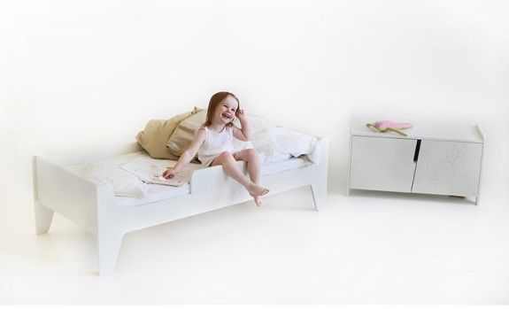 KUKUU's bird&berry Collection - toddler bed