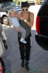 Kate Hudson Departs LAX with son Bing
