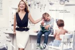 Kate Hudson for Ann Taylor with nephews Bodhi and Wilder