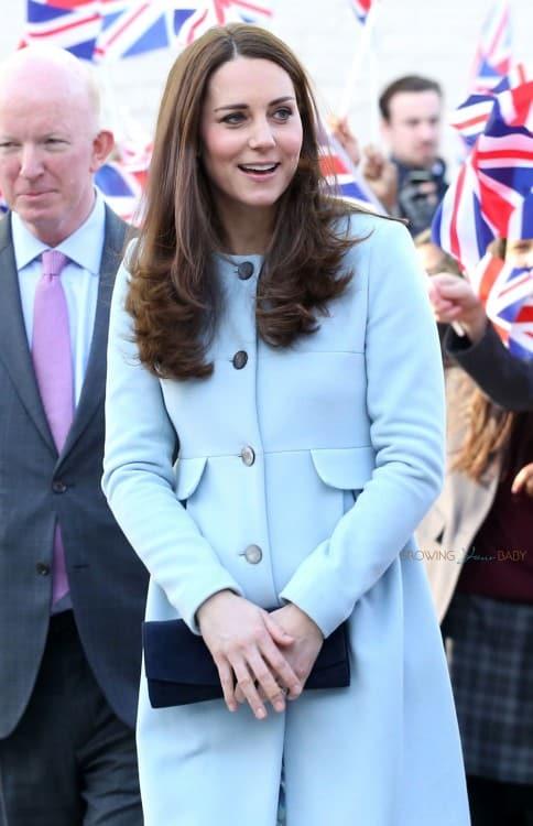 The Duchess of Cambridge opens the Kensington Aldridge Academy