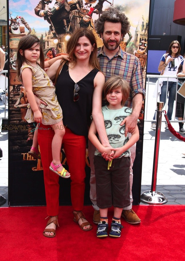 Photo of Kathryn Hahn & her Son  Leonard Sandler