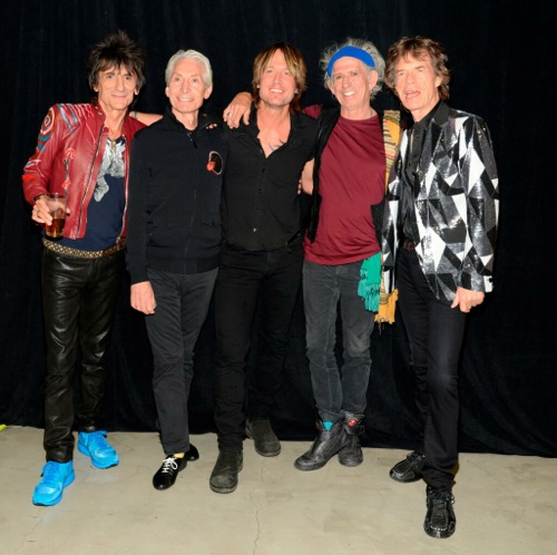 Keith Urban and the Rolling Stones