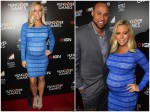 Kendra Wilkinson and husband Hank Baskett red carpet Hunger Games premiere