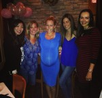 Kendra Wilkinson celebrates the pending arrival of her baby girl with some friends