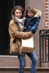 Keri Russell out in Brooklyn with her daughter Willa