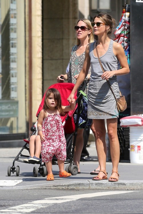 Keri Russell with daughter Willa