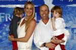 Kerri Walsh, Casey Jennings and sons Sundance Thomas and Joseph Michael attend the Disney's 'Frozen' Los Angeles premiere