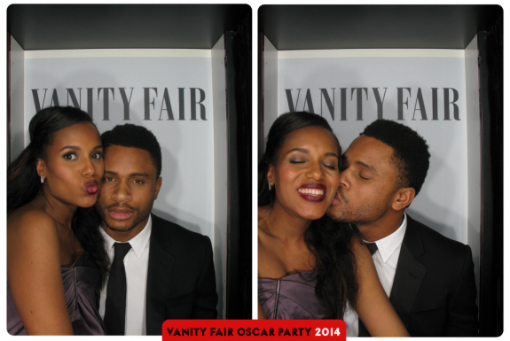 Kerry Washington and her husband Nnamdi Asomugha