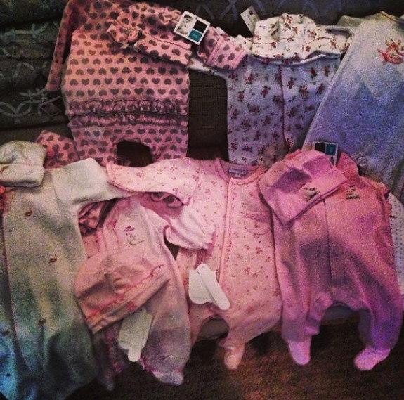 Kevin Jonas shops for his baby girl