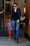 Khloe Kardashian leaves Trump SoHo with nephew Mason Disick