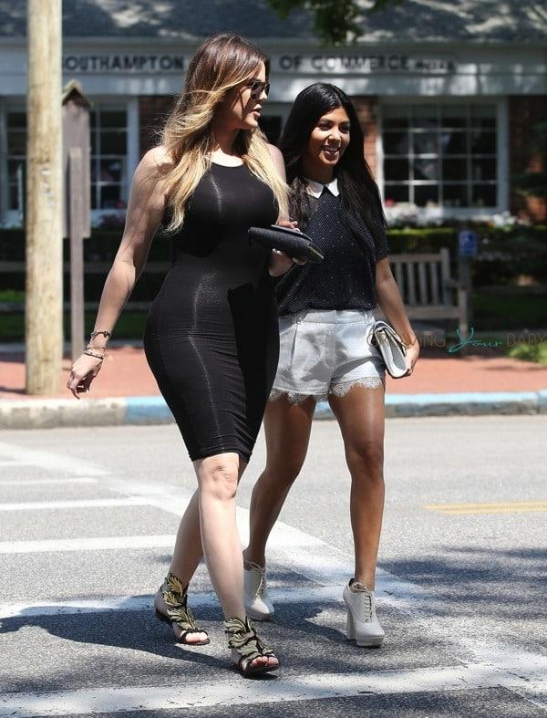 Khloe Kourtney Kardashian Shop In Southampton Ny Growing Your Baby