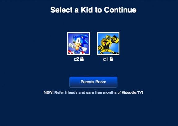 Kidoodle TV log in