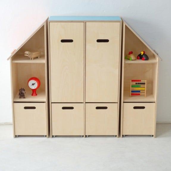 Kinkeli Shelf room divider