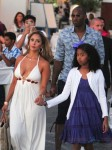 Kobe Bryant and wife Vanessa stroll through Greece  with daughters Natalia and Gianna