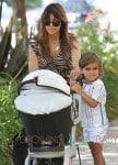 Kourtney Kardashian Takes Her Kids To The Calabasas Farmers Market