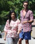 Kourtney Kardashian and Scott Disick visit DASH store in the Hamptons