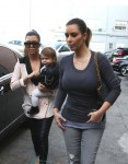 Kourtney Kardashian out in LA with Penelope Disick