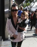 Kourtney Kardashian out in LA with daughter Penelope Disick