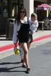 Kourtney Kardashian out in LA with her daughter Penelope Disick