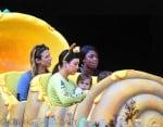 Kourtney Kardashian with daughter Penelope at Disneyland
