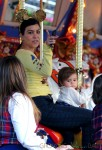 Kourtney Kardashian with daughter Penelope at Disneyland