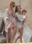 Kourtney Kardashian with daughter Penelope in Cabo San Lucas