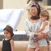 Kourtney Kardashian Celebrates Her 35th Birthday With Her Family in Cabo