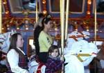 Kourtney Kardashian with son Mason at Disneyland