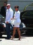 Kris Kardashian attends daughter Kim's bridal shower
