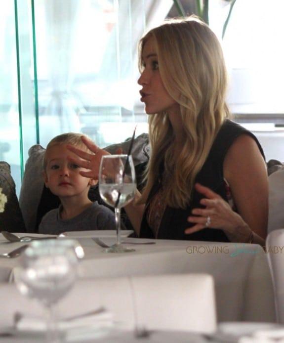 Kristin Cavallari lunches with son Camden Cutler in LA