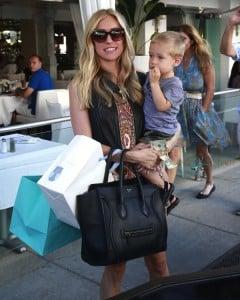 Kristin Cavallari lunches with son Camden in LA